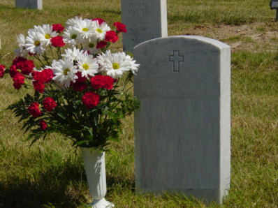 flowers-on-a-grave